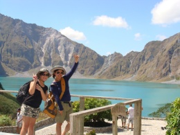 LOW BUDGET PINATUBO TOURS-PHP1350-P1950/PERSON-MAJESTIC MOUNT PINATUBO TOUR AND HOMESTAY/SONIA'S GROUP PINATUBO TREKKING ADVENTURE I Contact us @ +639186021943 or +639326094226-SONIA BOGNOT I Email us @ mtpinatubotour_bognothomestay@yahoo.com